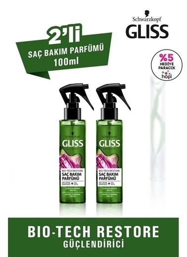 Gliss Gliss Biotech Saç Bakım Parfümü 100 Ml 2'Li Renksiz